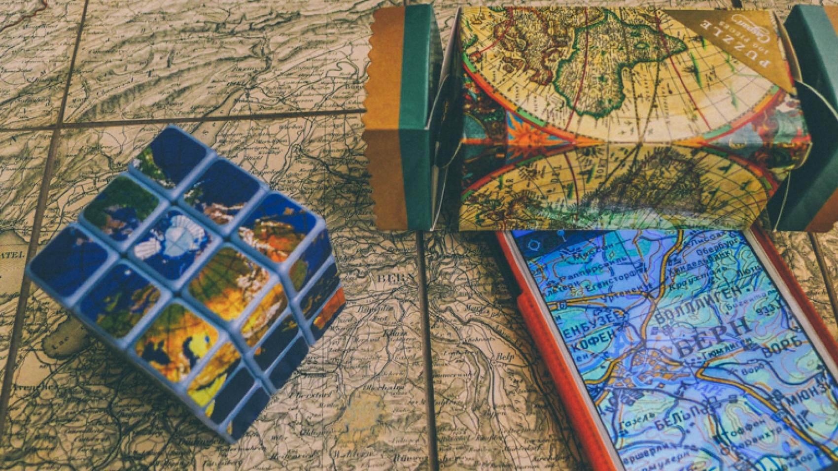 Printed or Digital Maps